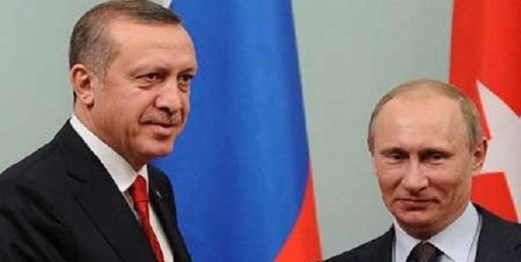 تماس تلفنی پوتین و اردوغان درباره تحولات سوریه