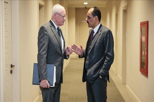 سخنگوی ریاست جمهوری ترکیه و جیمز جفری دیدار کردند