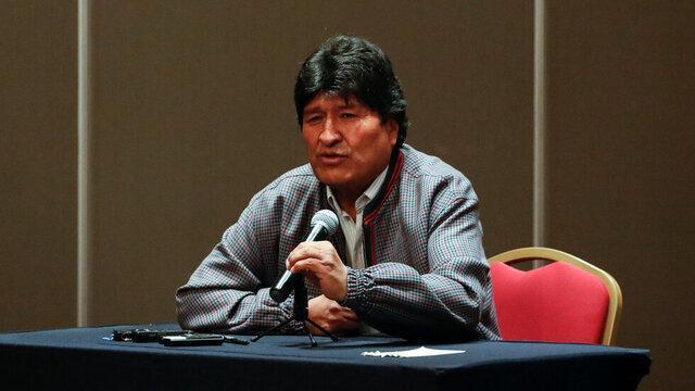 دلیل برکناری مورالس از زبان رئیس سنای بولیوی